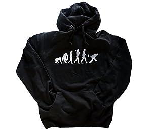 Silber Edition Eisstockschießen Eisstock Curling Evolution Kapuzensweatshirt...