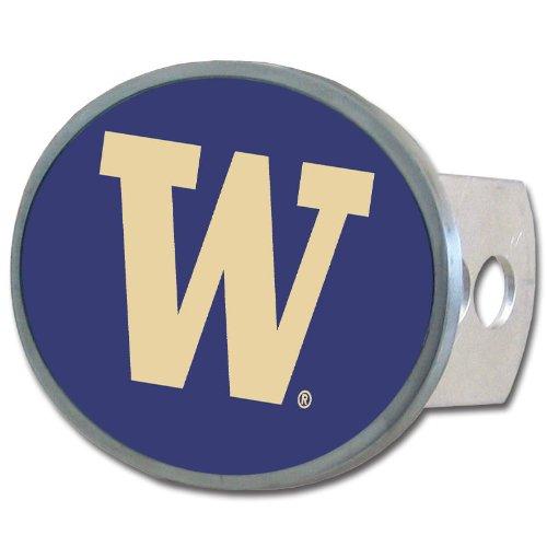 NCAA Washington Huskies Oval Hitch Cover (Wall Covers Washington)