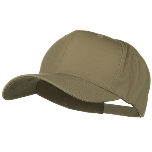 Big Bill Khaki (E4hats New Big Size High Profile Twill Cap - Khaki OSFM)