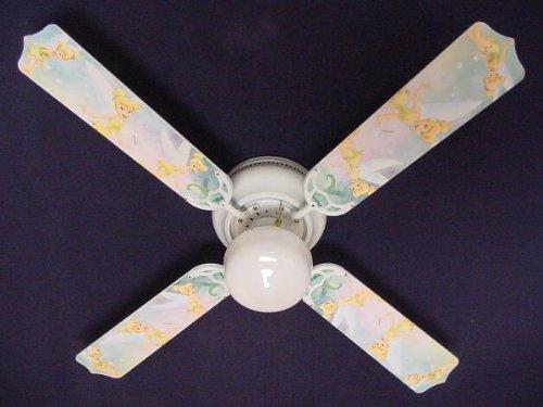 Ceiling Fan Designers Ceiling Fan, Tinkerbell Fairy Green, 42'' by Ceiling Fan Designers
