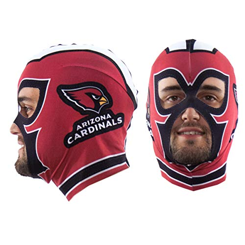 Littlearth NFL Arizona Cardinals Unisex Nflnfl Fan Mask, Red, One Size Fits Most