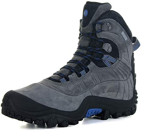 XPETI Men s Thermator Evo Mid High-Top Waterproof Leather Hiking Outdoor Boot