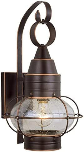 Vaxcel One Light Outdoor Wall Light OW21891BBZ One Light Outdoor Wall Light