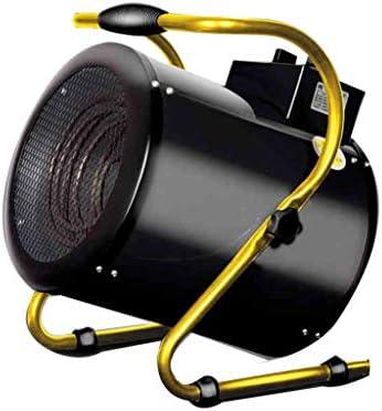 ポータブル超高出力スペースヒーター調節可能な温度ヒーター家庭用ガレージヒーター、黒3000、5000、9000ワット (サイズ さいず : Upgrade the new 3000 watts)