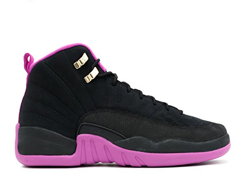 Da 12 Jordan Air Star Nero Gold black Nike hypr Basket Scarpe Donna Gg negro Retro Vlt Mtlc YR46Eqw