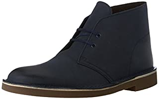 Clarks Men's Bushacre 2 Chukka Boot, Navy Leather, 8 M US (B00UWJ0JD2) | Amazon price tracker / tracking, Amazon price history charts, Amazon price watches, Amazon price drop alerts