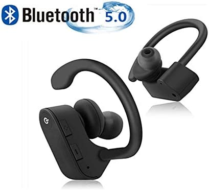 Bluetooth Headphones, Wireless Sports Earbuds,HiFi Bass Stereo, IPX5 Waterproof,Anti-Sweat in-Ear Headphones,Noise Cancelling,with Microphone,for Sports Earbuds iPhone Android Apple Airpods