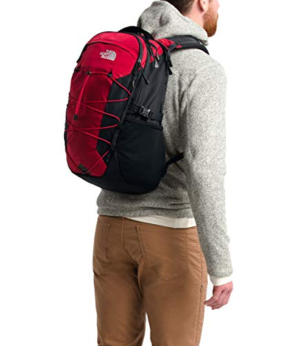- The North Face Men's Borealis Tnf Red Ripstop/Tnf Black One Size