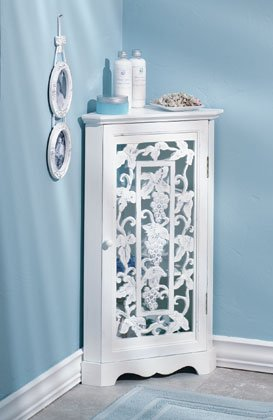 Exceptionnel Shabby Chic Corner Cabinet