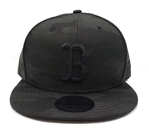New Era Blackout Camo Play 9FIFTY Adjustable Snapback Hat (Boston Red Sox)