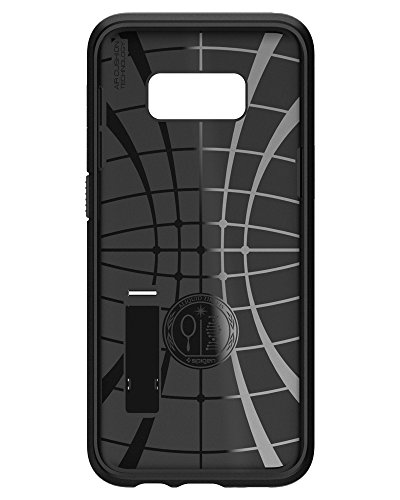 Spigen Slim Armor Galaxy S8 Plus Case with Air Cushion Technology and Hybrid Drop Protection for Galaxy S8 Plus (2017) - Metal Slate