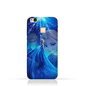 Huawei P9 Lite TPU Protective Silicone Case with Frozen Elsa Design
