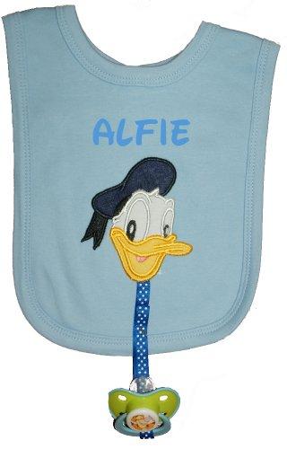 Personalised Dummy Clips Disneys Daisy Duck Any Name Handmade