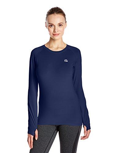 Goodsport Women's Moisture-Wicking Round-Neck Long Sleeve Tee