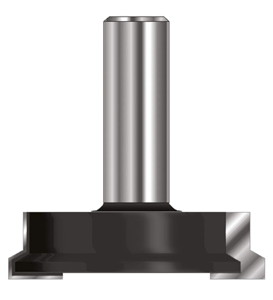 ENT 16270 Schubladen Verleimfrä ser HW (HM), Schaft (C) 8 mm, Durchmesser (A) 25,4 mm, B 12,7 mm, F 19 mm, E 3,97 mm, D 32 mm ENT European Norm Tools