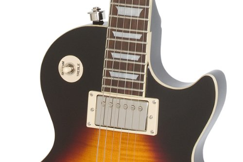 Epiphone Les Paul ''TRIBUTE'' Plus Outfit with Gibson '57 Classic Pickups Includes Case, Vintage Sunburst by Epiphone (Image #4)