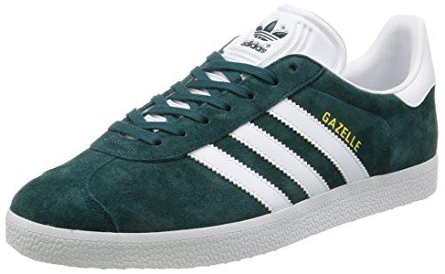 Adidas Originaux Gazelle Mens Formateurs Sneakers Chaussures Vert Whtie Or Métallique Bb5253