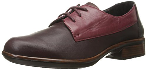 Naot Women's Kedma Oxford,Shiraz Leather/Rumba Leather,42 EU/11-11.5 M (Two Hands Shiraz)