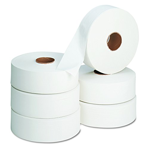 Sr Plush (Georgia-Pacific Envision 13102 White 2-Ply Jumbo Sr. Bathroom Tissue, 2000' Length x 3.5