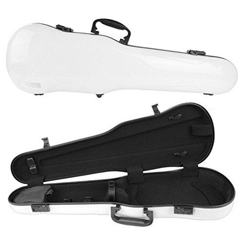 Gewa Air 4/4 Shaped Violin Case, White High Gloss (Violin Gewa)