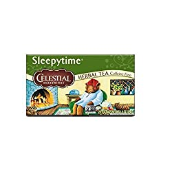 Celestial Seasonings Herbal Tea, Sleepytime, 20 Count, Pack of 6