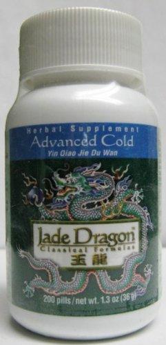 (Advanced Cold, 200 Pills, Yin Qiao Jie Du Wan, Teapills)