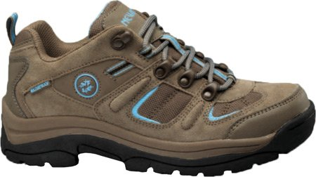Nevados Women's Klondike Waterproof Low V4161W Hiking Boot B00B62IZEE 5 B(M) US|Shiitake Brown/Carolina Blue
