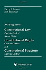 Constitutional Law: Cases in Context 2017 Supplement (Supplements) Paperback