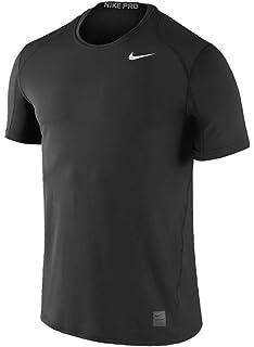 Amazon.com  NIKE Men s Pro Fitted Short Sleeve Shirt  Sports   Outdoors fdb302027
