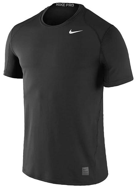 release date 74ee0 7c8ca Nike Pro Combat Compression Shirt Funktionsshirt Kinder langarm dunkelblau  S (128-140)