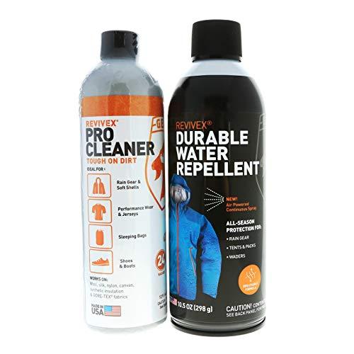 Revivex Spray - Gear Aid ReviveX Deluxe Waterproofing & Revitalization Combo Kit