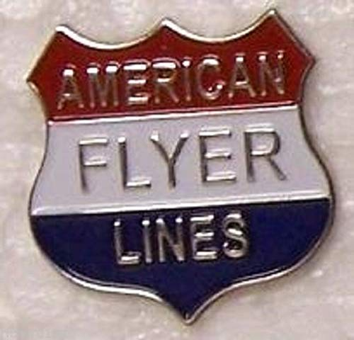 (Pin for Hats - Hat Tie Tac Push Lapel Pin American Flyer Lines New - Decoration for Clothes )