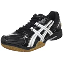 Asics Womens Gel-Domain 2 Indoor Court Shoes Black/White/Black - size 7.5
