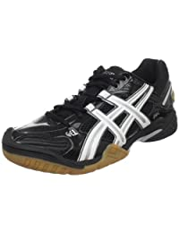 Asics Womens Gel-Domain 2 Indoor Court Shoes Black/White/Black - size 9.5