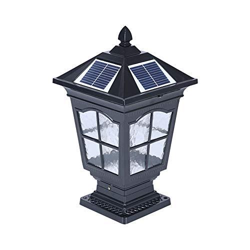 Solar Powered Bollard Garden Lights in US - 9