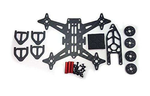 Usmile 100mm Carbon Fiber Quadcopter Frame Kit for 1104 Brushless Motor Indoor FPV racing (Quad Copter Frame 450 compare prices)