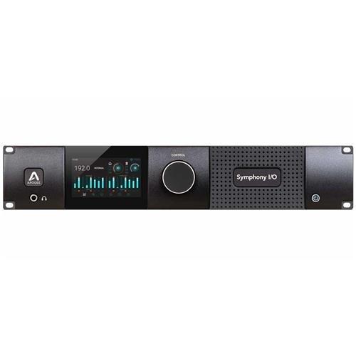 Apogee Electronics Symphony I/O MK II Multi-channel Thunderbolt Audio Interface with 8x8 Analog I/O + 8x8 AES/Optical I/O + 2-Ch S/PDIF I/O Module