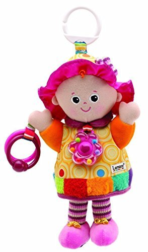 Lamaze My Friend Emily Take Along Doll New Discovery Baby Stroller Toy