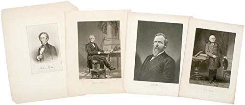 - Presidential Portrait Engravings, c. 1850-1880