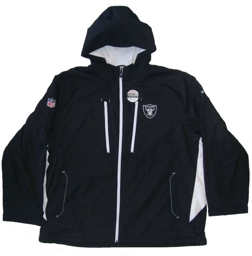 new products 3a62a c6b21 Oakland Raiders Size 3X-Large Long NFL Sideline Mid-Weight Jacket with  Lining - XXXL / 3XL