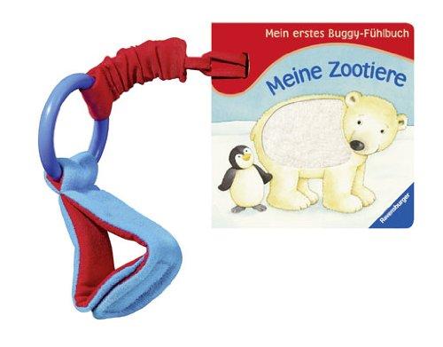 Mein erstes Buggy-Fühlbuch - Meine Zootiere