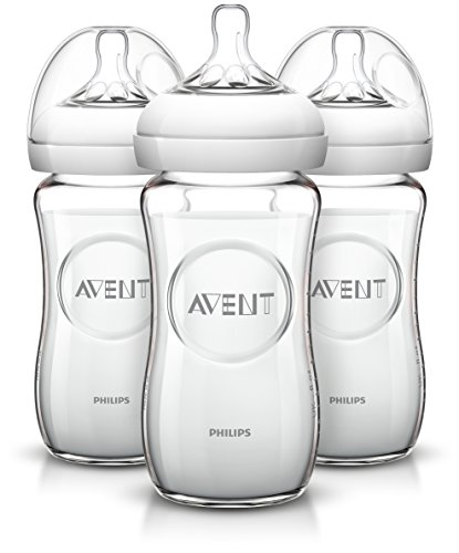 ORIGINAL Avent Bottles Lot of 3 Baby Philips Natural Glass S