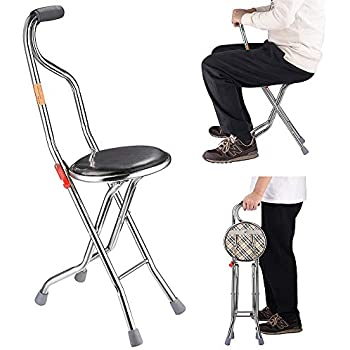 Amazon Com Endurance 174 4 Legged Folding Seat Cane Health