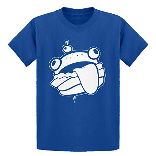 Indica Plateau Youth Durr Burger Youth M - (8-10) Royal Blue Kids T-Shirt ()