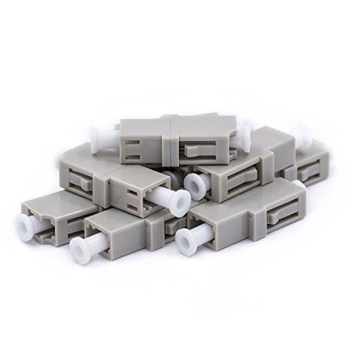Fiber Optic LC to LC Adapter Multimode UPC Simplex -
