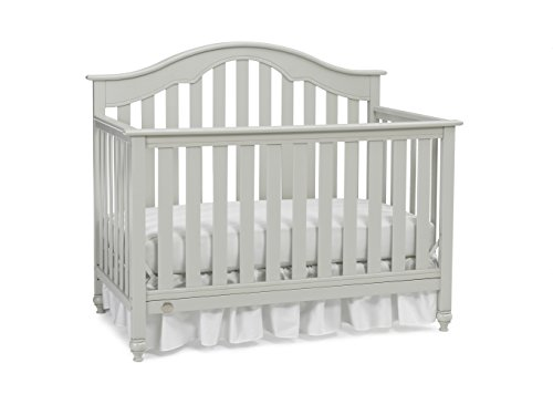 Fisher-Price Kingsport 5-in-1 Convertible Crib, Misty Grey