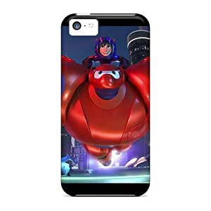 Hard Protect Phone Case For Iphone 5c (eSM4387dUJa) Allow Personal Design HD Big Hero 6 Pattern
