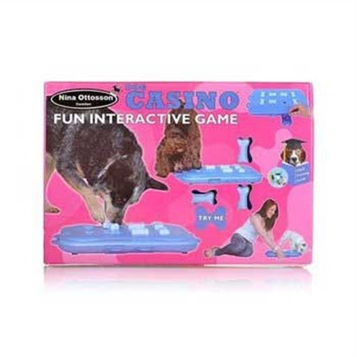 Nina Ottosson DogCasino Interactive game, My Pet Supplies