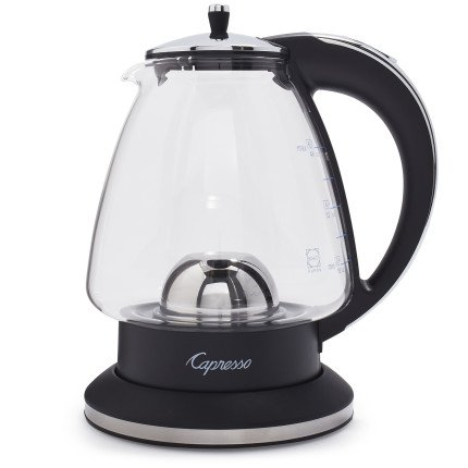 (Capresso H2O Glass 6-Cup Rapid Boil Water Kettle 240 03)