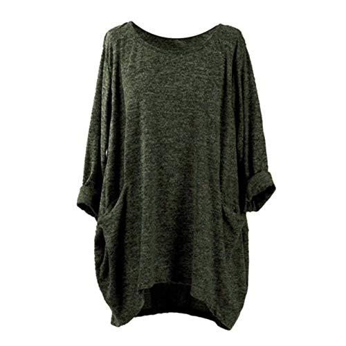 効果的発揮するセッションMyMei Tシャツ カットソー レディース 7分袖 長袖 丸首 無地 オーバーサイズ ゆったり 体型カバー ルームウェア アウトドア インナーシャツ カジュアル